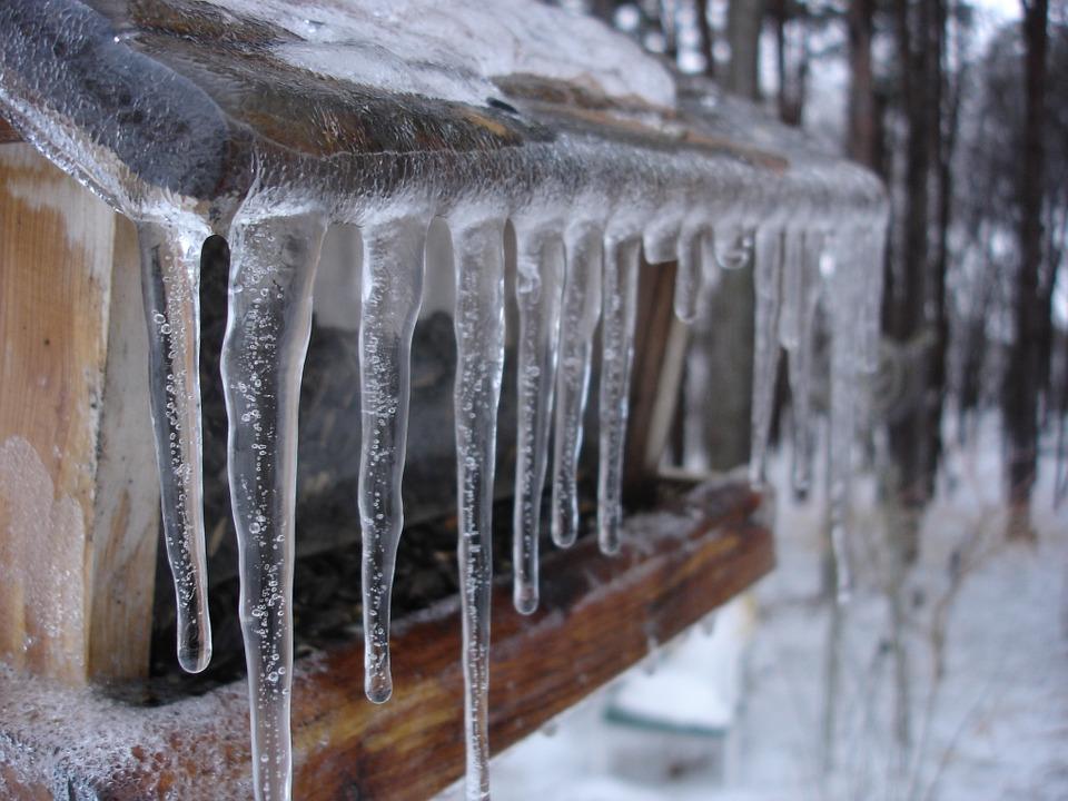 l'hiver sur les chantiers