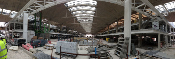 Chantier Halle Freyssinet