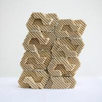 L'imprimante 3D réalise des matériaux de construction