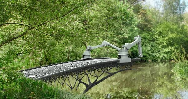 Réalisation de pont avec une imprimante 3D