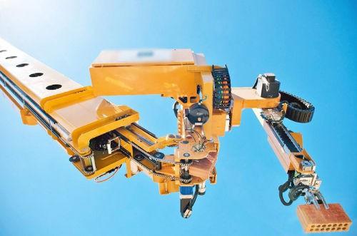 Les robots dans le BTP