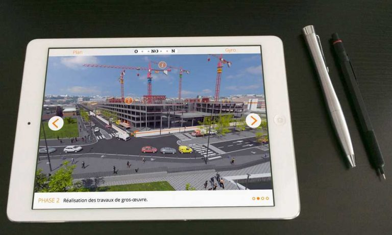 La r alit augment e une plus value pour le btp tracktor for Application suivi de chantier